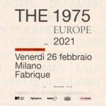 The 1975 La data prevista per il 19 ottobre 2020 è stata posticipata a venerdì 2…