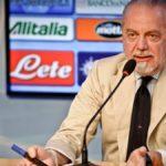 """Napoli, De Laurentiis : """"Il nuovo campionato? Ripartirei il 4 ottobre"""""""""""