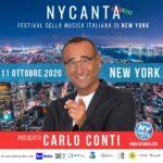 Musica: Carlo Conti presenta 'NYCanta', Festival italiano di New York