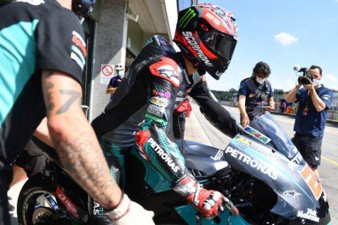 MotoGp, sorpresa Zarco: sua la pole a Brno. Morbidelli terzo dietro Quartararo, disastro Dovizioso
