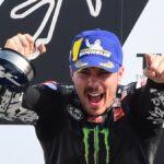 MotoGp, Bagnaia cade sul più bello. A Misano vince Viñales, Rossi si ritira. Dovizioso resta leader per un punto