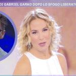 Barbara d'Urso legge il messaggio che le ha mandato Gabriel Garko dopo il coming out