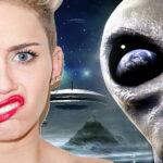 """Miley Cyrus ha visto un UFO: """"L'alieno mi fissava, è tutto vero"""""""