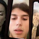 """Nina Moric pubblica una videochiamata choc con Carlos e Corona: """"Picchia e minaccia mio figlio, chiamo la Polizia"""""""