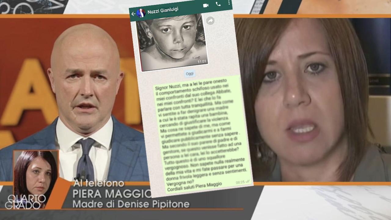 Denise Pipitone Piera scrive un messaggio